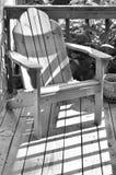 Adirondack Stuhl Stockbild