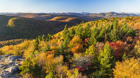 Adirondacks Autumn View da Hadley Mountain Fotografia Stock