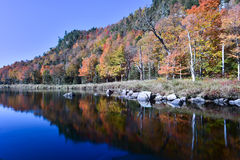 Adirondacks-Herbstlaub, New York Lizenzfreie Stockfotografie