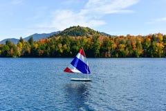 Adirondacks-Herbstlaub, New York Lizenzfreie Stockfotos