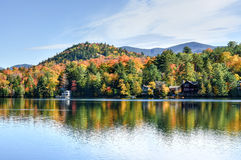 Adirondacks-Herbstlaub, New York Lizenzfreies Stockbild