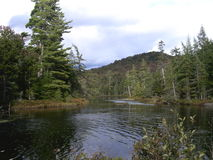 Adirondacks, Lake Durant, NY Stock Image