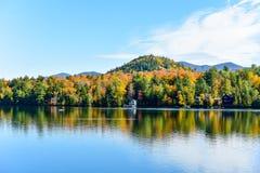 Adirondacks spadku ulistnienie, Nowy Jork obraz royalty free