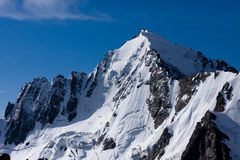 Adirsu mount. Central Kavkaz, Russian mountains system Royalty Free Stock Image