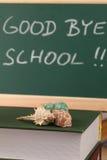 Adiós escuela Fotografía de archivo libre de regalías