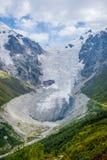 Adishi-Gletscher, Georgia Lizenzfreie Stockfotografie