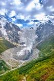 Adishi-Gletscher, Georgia Stockfotografie