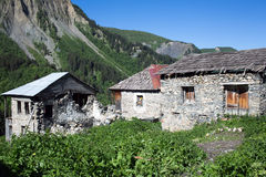 Adishi village in Svaneti, Georgia Stock Photo