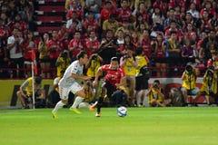 Adison Promrak de SCG Muangthong uniu-se Imagem de Stock Royalty Free