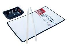 Adjunto del sushi Fotografía de archivo