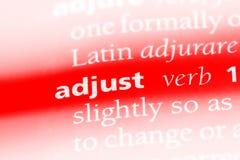 adjust Stockbild