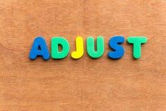 Adjust Stock Photo