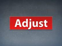 Adjust Red Banner Abstract Background. Adjust Isolated on Red Banner Abstract Background illustration Design vector illustration