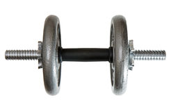 Adjustable dumbbell isolated Stock Photography