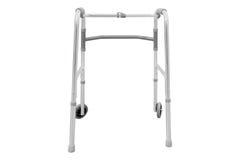 Adjustable folding walker Stock Image
