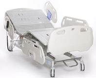 Adjustable hospital stretcher Royalty Free Stock Image