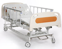 Adjustable hospital stretcher Stock Images