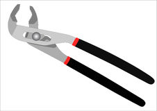 Adjustable pliers-pincers isolated Royalty Free Stock Photo