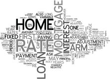 Are Adjustable Rate Mortgages Worth It Word Cloud. ARE ADJUSTABLE RATE MORTGAGES WORTH IT TEXT WORD CLOUD CONCEPT Royalty Free Stock Photos