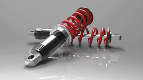 Adjustable shock absorber Stock Photos