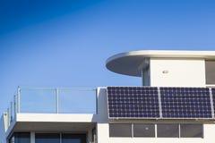 Adjustable solar panels Stock Photos