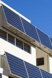 Adjustable solar panels Stock Photo