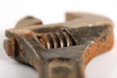 Adjustable spancer. Old rusty adjustable Stock Photo