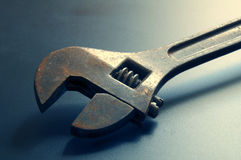 Adjustable Spanner Stock Photo
