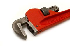 Adjustable spanner stock image