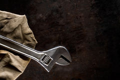 Adjustable spanner Stock Photos