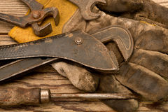 Adjustable Spanner Royalty Free Stock Images