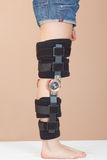 Adjustable support for leg or knee injury Royalty Free Stock Images