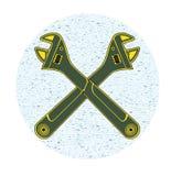 Adjustable wrench Stock Image