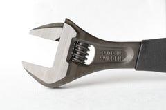 Adjustable wrench Stock Photo