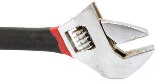 Adjustable Wrench (Spanner) Stock Image