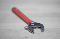 Adjustable wrench Royalty Free Stock Photography