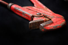 Adjustable wrench tool Stock Photos