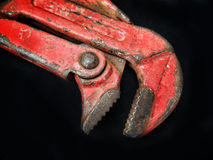 Adjustable wrench tool Royalty Free Stock Images