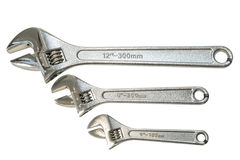 Adjustable wrench Stock Photography