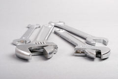 Adjustable wrenches Stock Photography