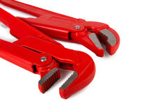 Adjustable wrenches Royalty Free Stock Images