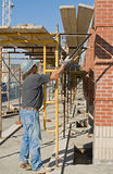 Adjusting Scaffolding Stock Images