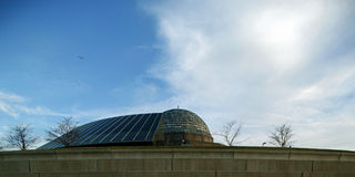 adler芝加哥天文馆 免版税库存照片
