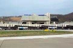 Adler airport Stock Photos
