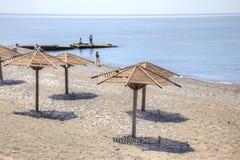 Adler. Beach Stock Image