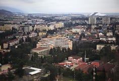 Adler on the Black Sea coast Stock Image