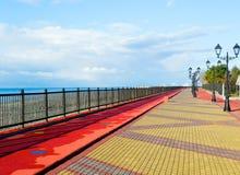 Adler-Damm entlang dem Schwarzen Meer Lizenzfreies Stockfoto