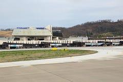 Adler-Flughafen Stockfoto
