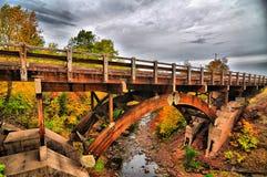 Adler-Fluss-Brücke Lizenzfreie Stockbilder