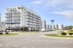 adler Imeretinsky-Bezirk Marineboulevard Lizenzfreies Stockfoto